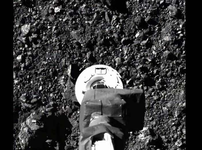 Muestras del asteroide Bennu escapan de sonda