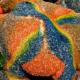 panadería, pan de muertos, colores, Día de Muertos, tendencia