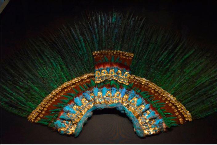 Penacho, Moctezuma, Austria, Museo, sacerdote