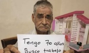 abuelito, pensión, trabajo, precarización, Sonora, viral, pobreza
