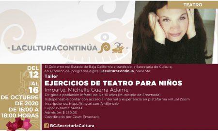 teatro, taller, secretaría de cultura