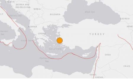 Terremoto, tsunamie, Turquía, Grecia, mapa