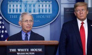 Donald Trump, insultos, Anthony Fauci, EEUU, pandemia, covid-19