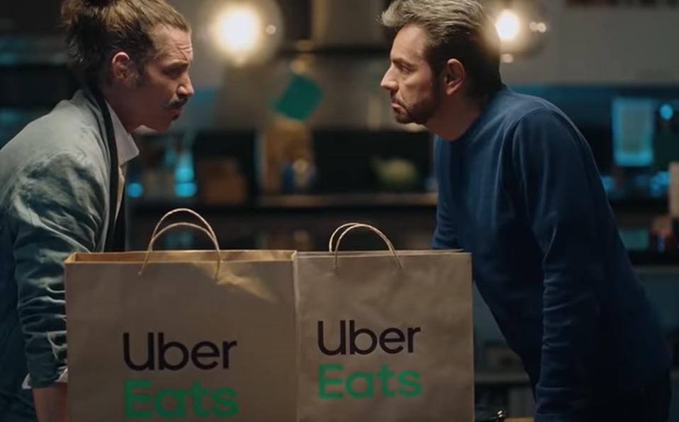 Eugenio Derbez, comercial, Uber Eats, Uber, Óscar Jaenada