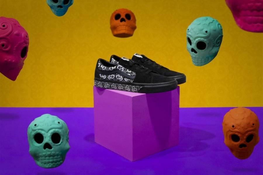 Vans, Día de Muertos, tenis, colección especial, colección, calzado