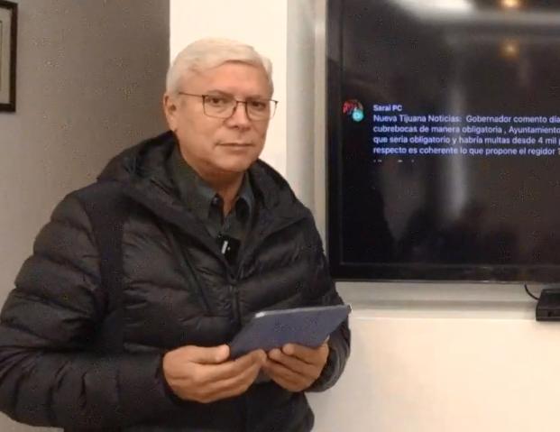 multas, Cubre bocas, Gobernador Jaime Bonilla Valdez,
