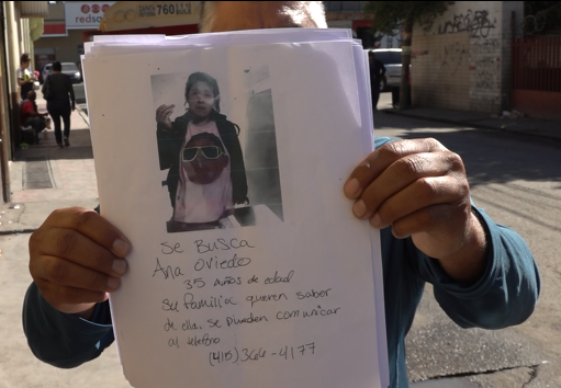 Ana Oviedo, mujer desaparecida, deportada,