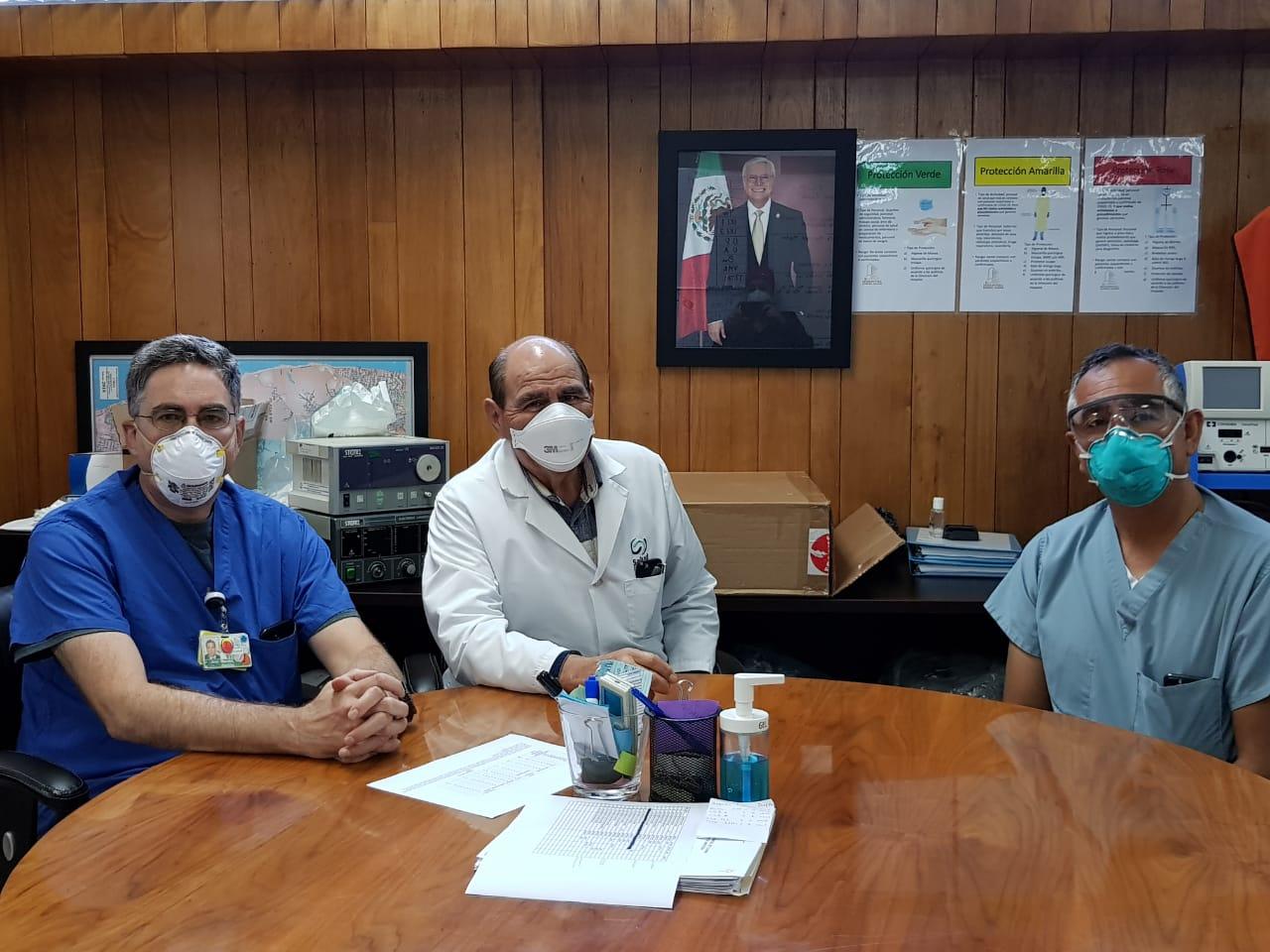 colaboración binacional, Covid-19, Hospital General de Tijuana,