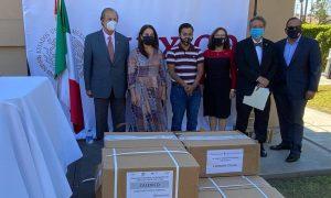 sep, entrega, libros, texto, estados, unidos, mexicanos, consulado