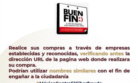 FGE, GESI, fraude cibernético, ventas en línea, El Buen Fin, compras en línea
