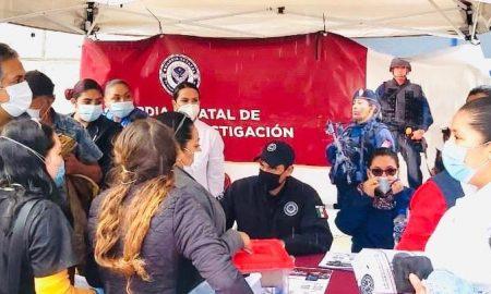 FGE, GESI, plática preventiva, denuncia oportuna, centro comunitario El Florido