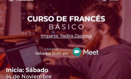 IMJUV, curso en línea, francés básico