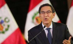 Martín Vizcarra, Perú, destitución, cargo público, corrupción, Congreso