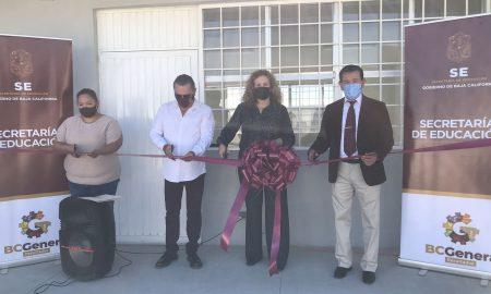 SEBC, Secretaría de Educación en Baja California, educación Tijuana, primaria, infraestructura educativa
