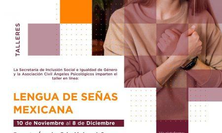 SISIG, Cursos y Talleres, Lenguaje de Señas Mexicana, discapacidad auditiva,