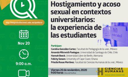 UABC, mesa de diálogo, estudiantes, comunidad cimarrona, acoso sexual, hostigamiento escolar