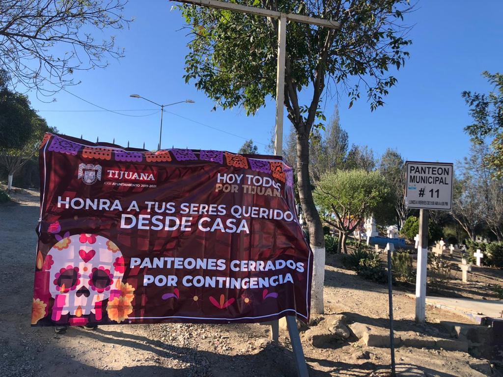 ayuntamiento de Tijuana, panteones municipales, cerrados,