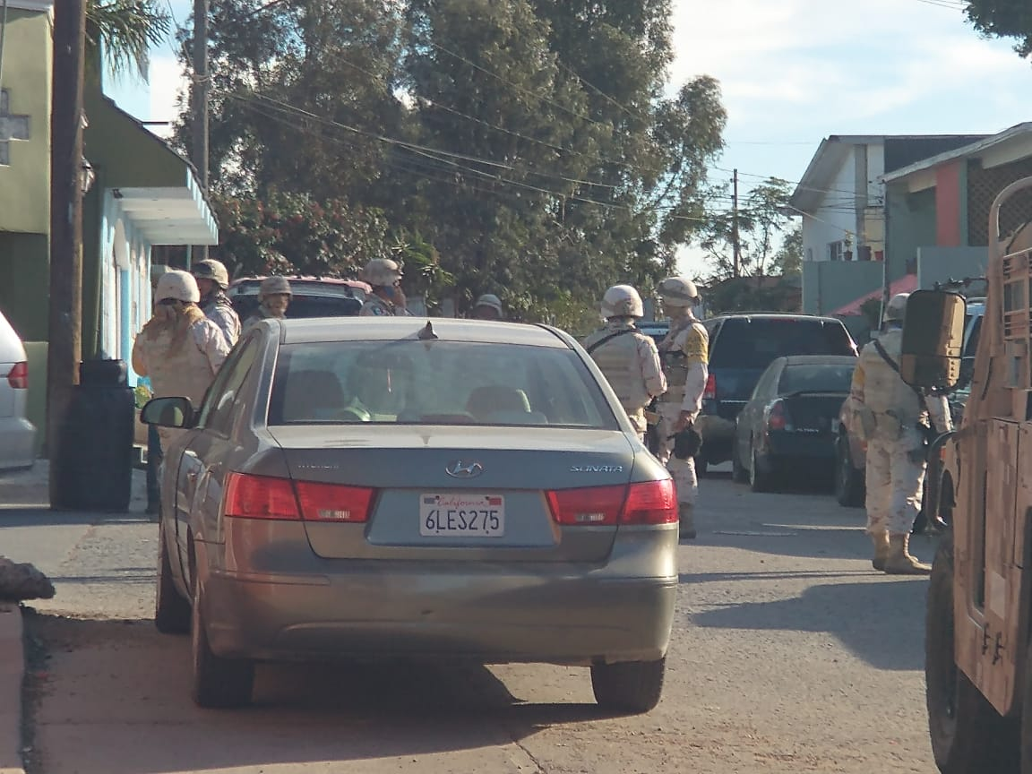 persecución, policías, ejército
