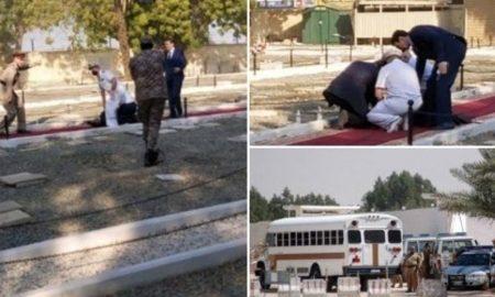 cementerio, Arabia Saudita, ataque, explosivos, conmemoración