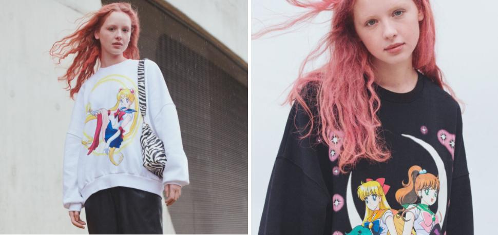 moda, Sailor Moon, Bershka, ropa, tendencia, estilo