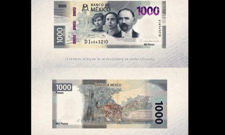 Billete, nuevo, mil pesos, 1000, Banco de México, Banxico