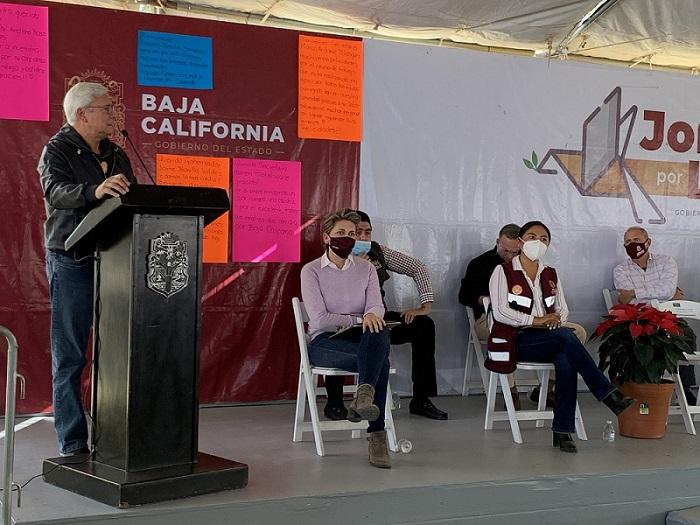 Jaime Bonilla, Jornada por la Paz, entrega, televisiones