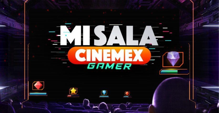 Cinemex, videojuegos, sala de cine