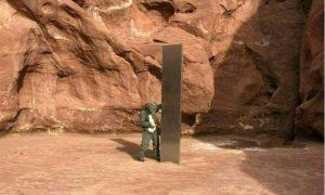 Monolito, encontrado, Utah, desaparece, roban