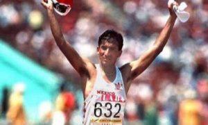 Ernesto Canto, juegos olímpicos, caminata