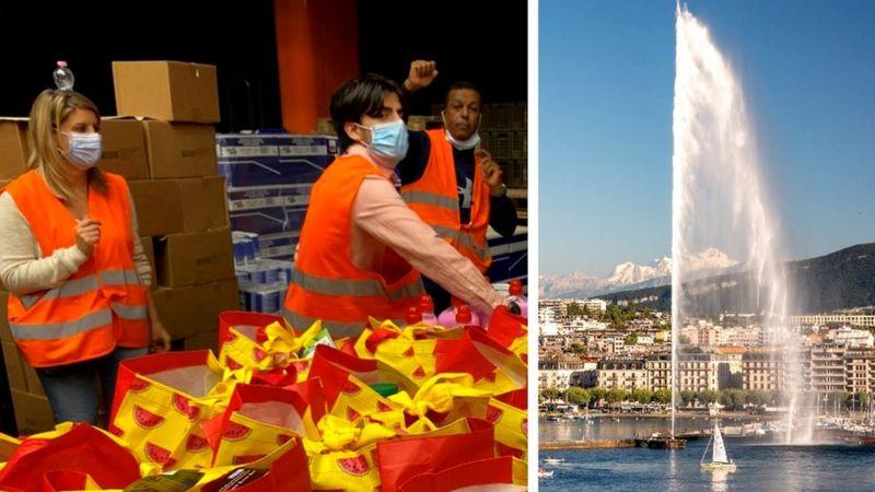salario mínimo, riqueza, Suiza, Ginebra, economía