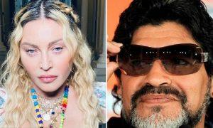 Madonna, Diego Armando Maradona, confusión, tendencia, redes sociales