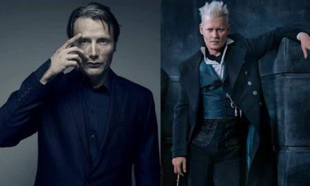 Mads Mikkelsen, Gellert Grindelwald, Johnny Depp, Animales Fantásticos, película