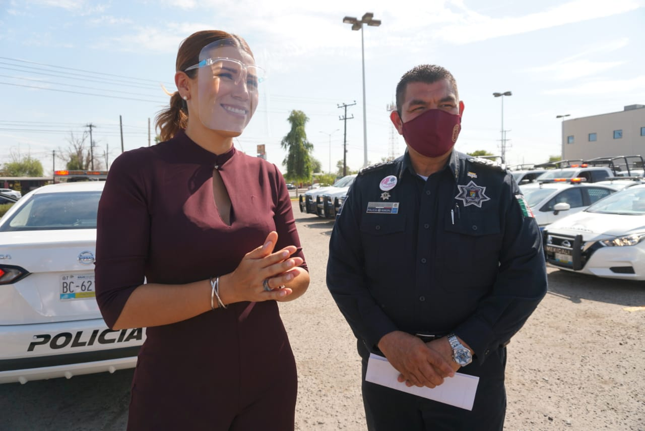 Gobierno, Mexicali, patrullas, seguridad pública, Marina del Pilar Ávila Olmeda