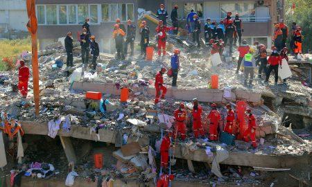 menor de edad, niña, atrapada, Turquía, escombros, terremoto