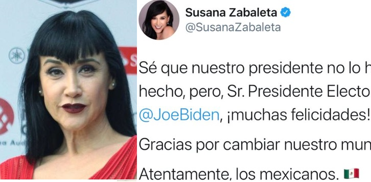 Susana Zabaleta, Joe Biden, twitter, tendencia, polémica, crítica