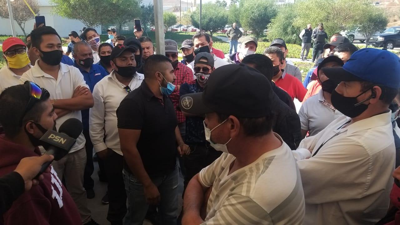 Taxistas, marcha, IMOS, movilidad, protesta, covid-19
