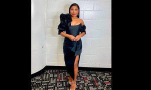Yalitza Aparicio, presentadora, conductora, Latin Grammy, atuendos, vestidos, reacciones