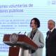 AMLO, Galia Borja, aguinaldos, conferencia mañanera