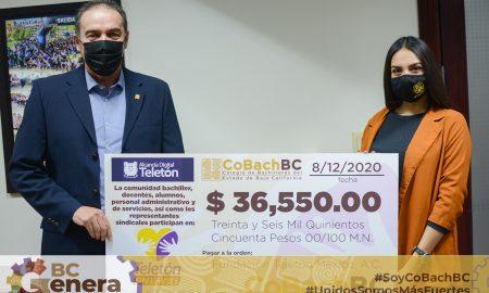 donativo, Cobach BC, Fundación Teletón,