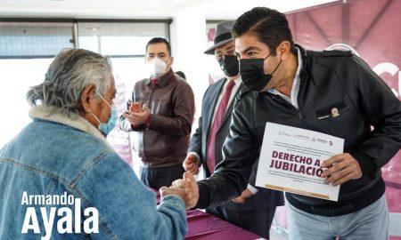 pensiones, jubilados, Alcalde Armando Ayala,