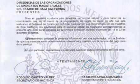 aguinaldo, maestros, Secretaría de Educación, Secetaría de Hacienda