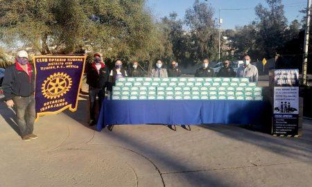 campaña, donativo, Cubre bocas, policías, Bomberos,