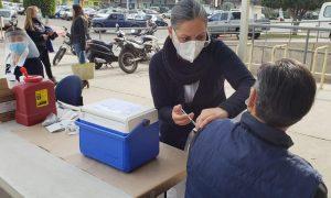 ensenada, casa municipal, vacunación, influenza