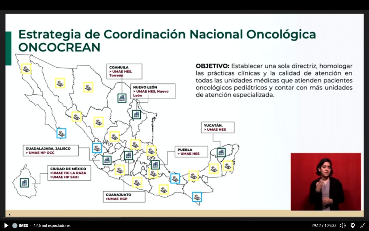 oncológico, cáncer, centros, país, 17, niños, méxico, zoe, robledo, imss