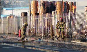 bomberos, donativos, incendios, tijuana