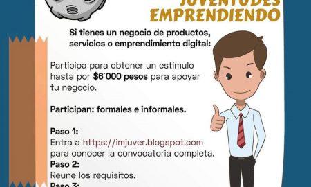 IMJUVE, Rosarito, apoyos, jóvenes emprendedores