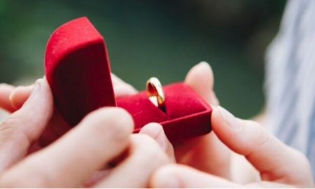 Anillo, compromiso, matrimonio, boda, demanda, pareja