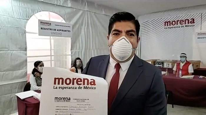 Armando Ayala, registro, contienda, gubernatura, Baja California, candidato, precandidato