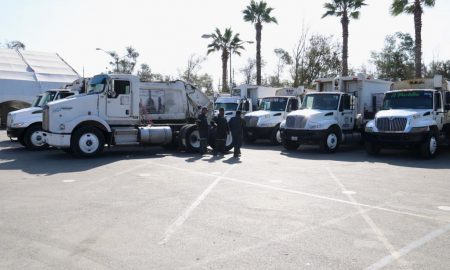 Ayuntamiento de Tijuana, camiones de basura, recolección