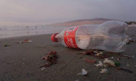 Coca Cola, contaminación, residuos plásticos